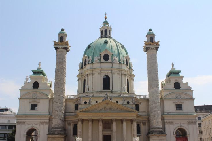 Karlskirsche, em Viena