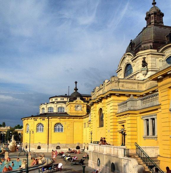 Szechenyi, banhos termais de Budapeste