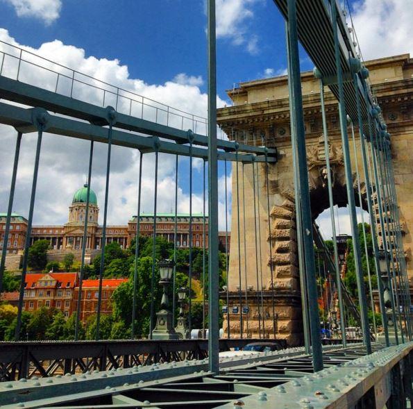 Chain Bridge e Castelo de Buda, Budapeste