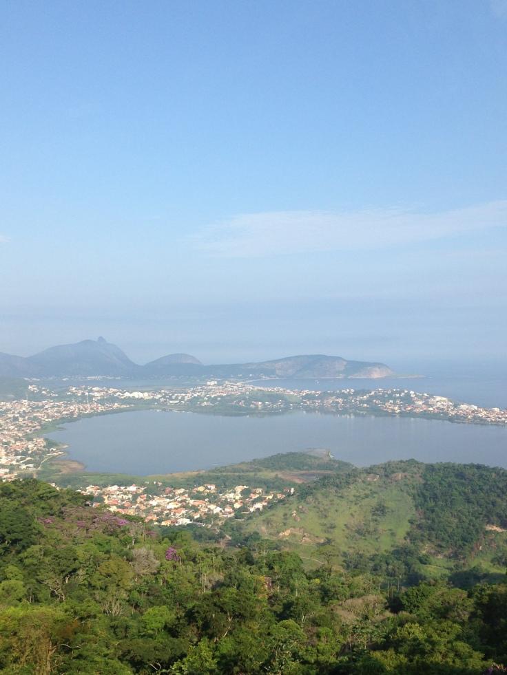 Parque da Cidade, vista de Niterói