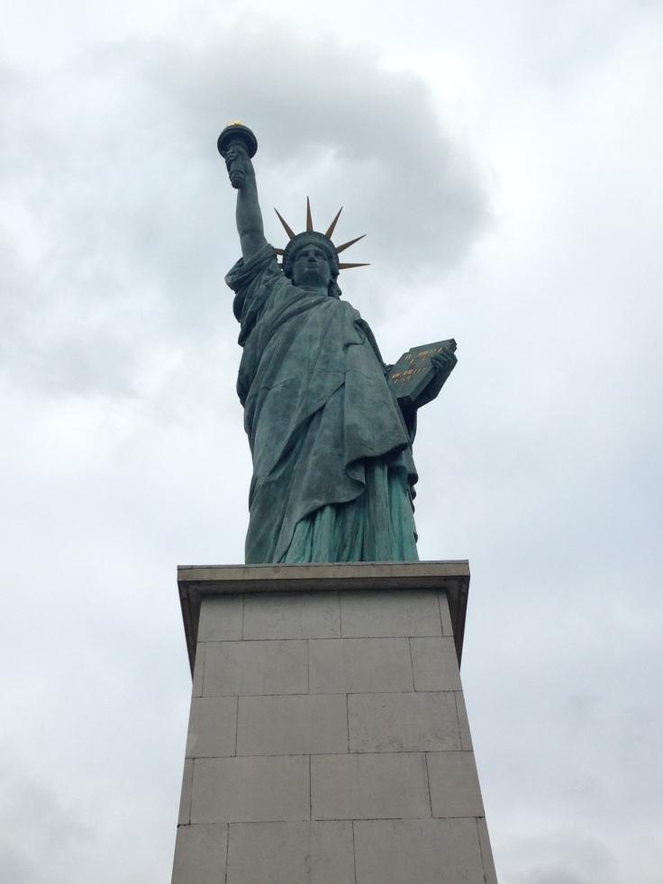 Estátua da Liberdade, Paris