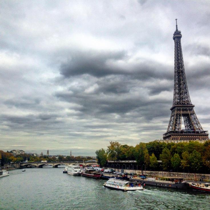Viaduto de Passy, vista da Torre, Paris